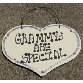 1028GRAM - Grammys Are Special large wood heart