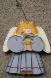 1030 - Angel Christmas Ornament