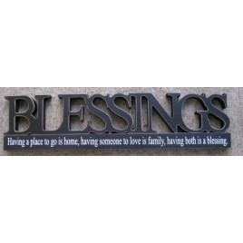 11146I- Blessings Tabletop Cutout