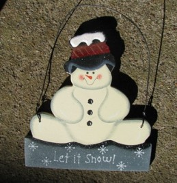 1116 - Let It Snow Snowman