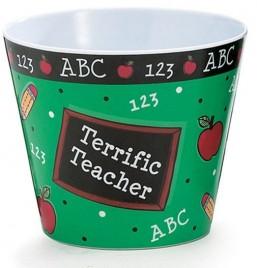 Teacher Gifts 1137303-School Daze Cover Plastic Pot
