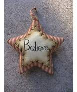 Primitive Decor 1146089SB - Believe Star Stripped