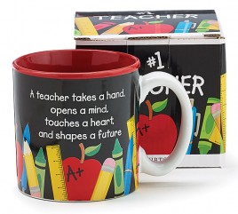 142100NB - Teachers Count Ceramic  Mug