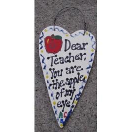 1430 - Dear Teacher You are the Apple of my eye