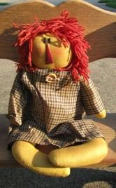 17034BRN - Primitive Rag Doll