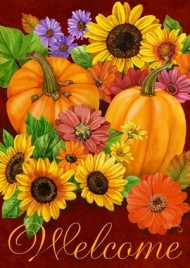 2334FGWF - Welcome Fall Garden Flag