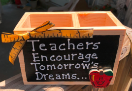Teacher Gift 2701DC-Teacher Encourage Tommorrow's Dreams Supply Box