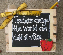 Teacher Gifts 2708 Teachers  Change the world one Child at a Time Supply Box