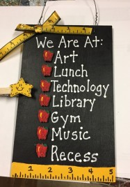 Teacher Gift 2709WRA- We Are At: