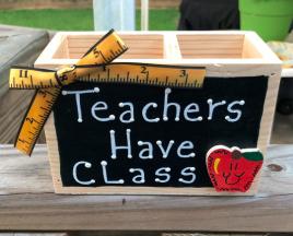 Teacher Gifts 2710DC - Teachers Have Class Supply Box