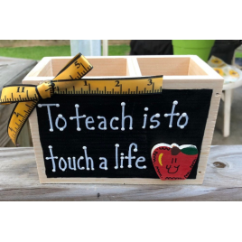 Teacher Gifts   Teacher Gift  2714DC  To teach is to Touch a Life Supply Box