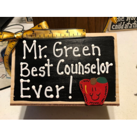 School Counselor Gift (name of counselor) Best Counselor Ever!