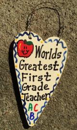 Teacher Gifts 3001 Worlds Greatest  First Grade Teacher
