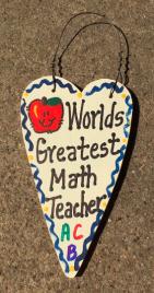 Teacher Gifts 3004 Worlds Greatest  Math Teacher
