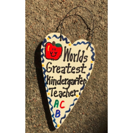 Teacher Gifts 3011  Worlds Greatest Kindergarten Teacher