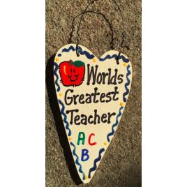 Teacher Gifts 3012  Worlds Greatest Teacher