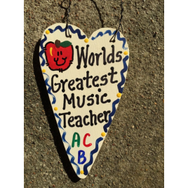 Teacher Gifts 3012  Worlds Greatest Music Teacher