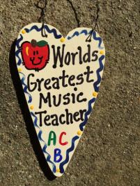 Teacher Gifts 3012  Worlds Greatest Music Teacher