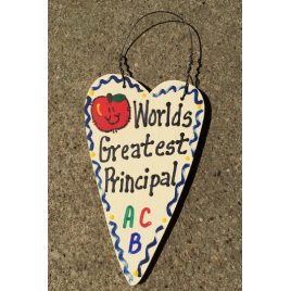 Teacher Gifts 3017  Worlds Greatest Principal