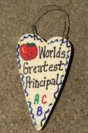 Teacher Gifts 3017  Worlds Greatest Principal