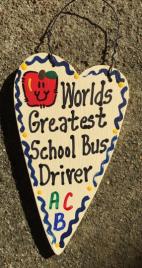 Teacher Gifts 3022  Worlds Greatest School Bus Driver