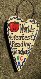Readig Teacher Gifts 3025  Worlds Greatest Reading Teacher