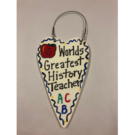 History Teacher   3030 Teacher Gifts Worlds Greatest History Teacher