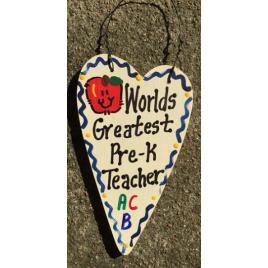 Pre-K Teacher Gifts 3032 Worlds Greatest Pre-K Teacher