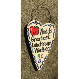 Lunchroom Worker Teacher Gifts 3033 Worlds Greatest Lunchroom Worker