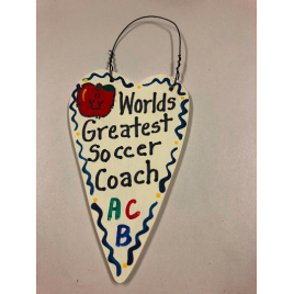 Soccer Coach Teacher Gifts 3039 Worlds Greatest  Soccer Coach