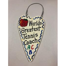 Tennis Coach 3044 Teacher Gifts Worlds Greatest  Tennis Coach