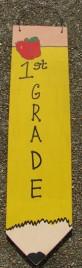 Teacher Gifts 3057P1 No 1 First Grade Teacher wood Pencil