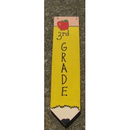 3075P3- 3rd Grade Teacher wood pencil