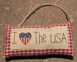 31030ILU- I Love the USA cloth