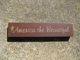 Patrotic Block 31421ATB- America The Beautiful