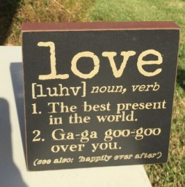 Primitive Love Word Definition Sign