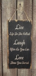 3546LLL - Live Laugh Love