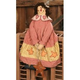 3D6047  Folk Star Fabric Doll