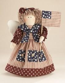 41401PA - Americana Angel with Flag
