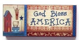 Partiotic Block 48150GBA- God Bless America Block
