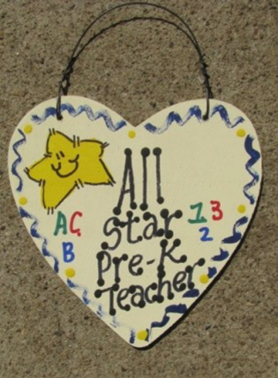 Teacher Gifts 5000 All Star Pre-K Teacher