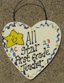 Teacher Gifts 5002 All Star First Grade Teacher
