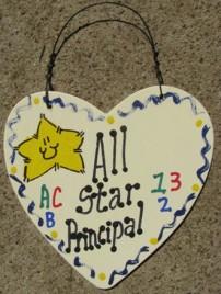 Teacher Gifts 5006 All Star Principal School