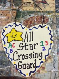 Crossing Guard Teacher Gifts 5012  All Star Crossing Guard