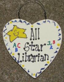 Teacher Gifts 5013 All Star Librarian