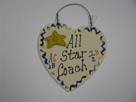 Teacher Gifts 5016 All Star Coach