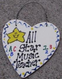Music Teacher Gifts 5017 All Star Music Teacher