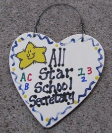 School Secretary Gifts 5028 All Star School Secretary