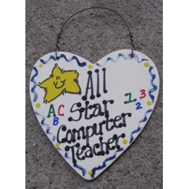 ComputerTeacher Gifts 5029 All Star Computer Teacher