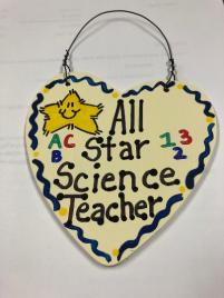 Science Teacher Gifts 5037  All Star Science Teacher Handmade